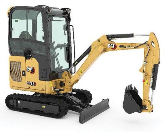 cat mini excavators