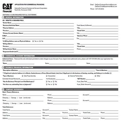 cat card credit app