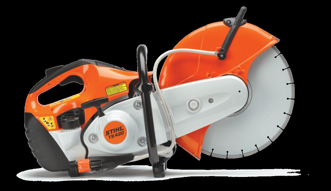 stihl ts420 cut-off saw